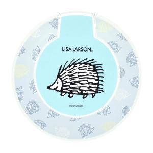 リサ・ラーソン ワイヤレス充電器 iPhone Galaxy スマホ 過電圧保護 ショート保護 ライトブルー ハリネズミ おしゃれ 北欧 LL-17LBL|ai-en