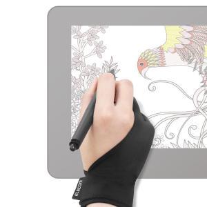 液晶ペンタブレット iPad タブレット 2本指グローブ Mサイズ シンプル 洗濯OK 手汗対策 指...