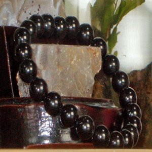ブラック トルマリン ブレスレット パワーストーン 天然石 誕生石|ai-fujinomiya