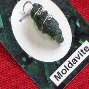モルダバイト 隕石 ペンダント ネックレス パワーストーン 天然石2 ai-fujinomiya