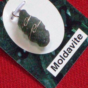 モルダバイト 隕石 ペンダント ネックレス パワーストーン 天然石4|ai-fujinomiya