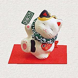 招き猫 張り子 縁起飾り|ai-fujinomiya