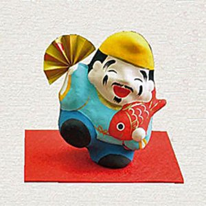 恵比寿様 張り子 縁起飾り|ai-fujinomiya