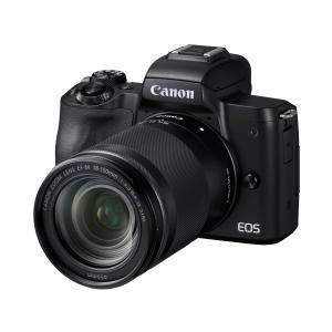 Canon EOS Kiss M EF-M18-150 IS STM レンズキット [ブラック]【お...