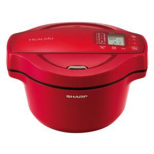 シャープ KN-HT16E-R 水なし自動調理鍋 「ヘルシオ ホットクック」(1.6L) レッド系の商品画像|ナビ