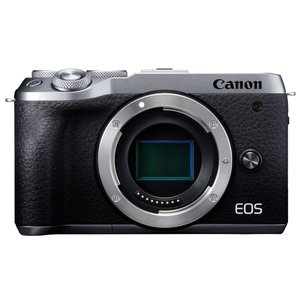 Canon EOS M6 Mark II ボディ [シルバー]【お取り寄せ商品(3週間〜4週間程度で...