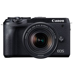 Canon EOS M6 Mark II EF-M18-150 IS STM レンズキット [ブラッ...