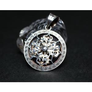 Silver925 ペンダント 羯磨 マンダラ|ai-inori