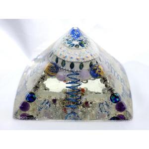 オルゴナイト 天空のシールド ブルー ai-inori