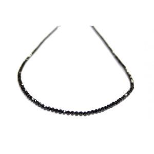 ブラックスピネルネックレス AA4.5m|ai-inori