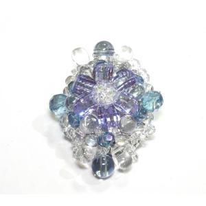 ブローチ 水晶4|ai-inori