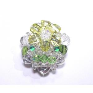 クリップ式ブローチ 水晶6|ai-inori