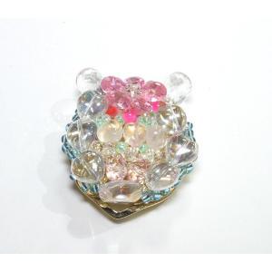 クリップ式ブローチ 水晶7|ai-inori