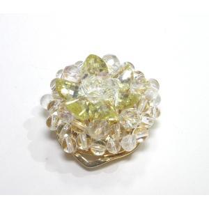 クリップ式ブローチ 水晶8|ai-inori