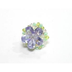 ピンブローチ 水晶2|ai-inori