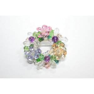 ブローチ 水晶5|ai-inori