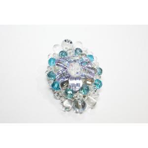ブローチ 水晶9 Big|ai-inori