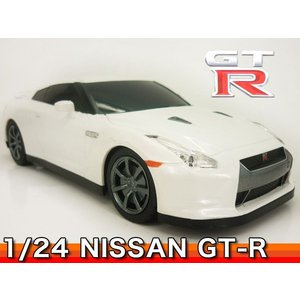 GTR ニッサン 日産 1/24スケール ラジコン RASTAR ###ニッサン35200白★###|ai-mshop