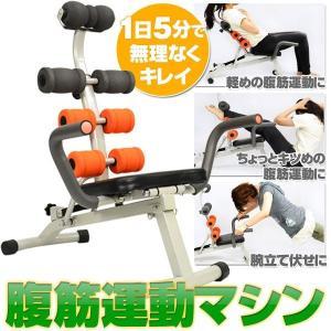 腹筋運動マシン アブシェイプマシン 腹筋マシーン 腹筋補助 腕立 シットアップベンチ マルチジム 腹筋 筋トレ ベンチ マシン ###アブベンチAND-619###|ai-mshop