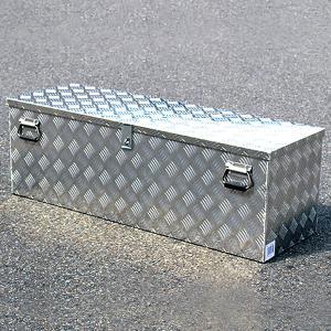 高品質アルミチェッカー製 アルミ工具箱 ツールボック ストラック 軽トラ 車載 倉庫 整理 1150...