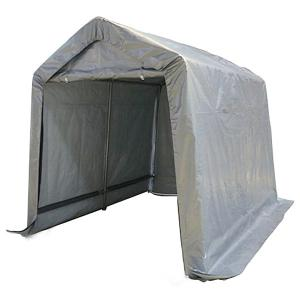テント ガレージテント 2.4x3m スチール 車庫 バイク&小型自動車ガレージ ###テントC810101◇###|ai-mshop