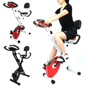 フィットネスバイク ベルト式 クロスバイク X-bike エアロビクス ダイエット 有酸素運動 ベルトタイプ エクササイズ 美脚 運動 家庭用 ###バイクF-917EZ###|ai-mshop