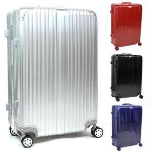 スーツケース Lサイズ アルミフレーム キャリーケース 軽量...