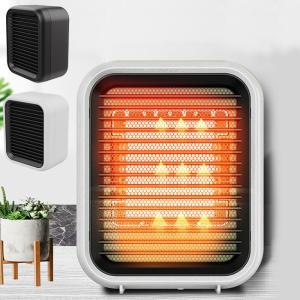 ヒーター セラミックヒーター 電気ファンヒーター 足元 暖房 電気ストーブ 3秒速暖 小型 スリム コンパクト PTCヒーター 過熱 転倒保護 ###ヒーターXH-A8-###|一撃SHOP