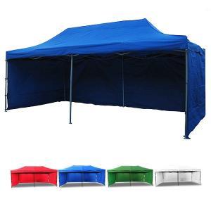 タープテント テント 幕付き 大型 テント 6×3m タープテント 超BIGテント 大型 ワンタッチ 簡単設置日よけ アウトドア 軽自動車 車庫###幕付テントS-3X6C###|ai-mshop