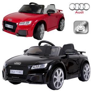 電動乗用カー Audi TT RS アウディ 正規ライセンス 充電式 プロポ付き 乗用玩具 ###乗用カーJE1198### ai-mshop