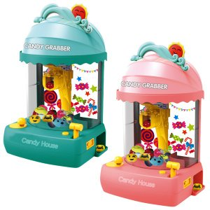 おうちでゲームセンター気分が味わえる♪  家庭用クレーンゲームです。  小さなぬいぐるみやおもちゃ、...