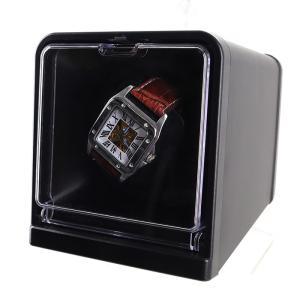 ワインディングマシーン 時計収納 ワインディングマシン 1本巻き 自動巻き 時計 ウォッチワインダー ###時計収納KA003###|ai-mshop