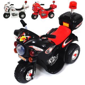 新型 アメリカンポリスバイク 乗用電動バイク 乗用玩具 子供用 三輪車 充電式 ライト点灯 サイレン付 ###乗用バイクLQ-998###|ai-mshop