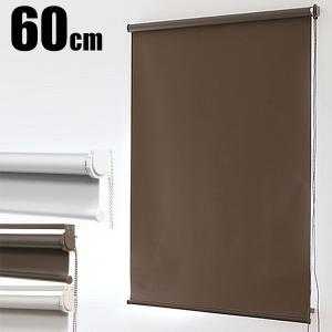 ロールスクリーン ロールカーテン ロールブラインド 幅60cm 遮光率99.99% ###スクリーンRK60###|ai-mshop