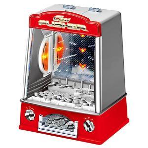 コインマシン コイン落とし メダルゲーム コインプッシャー おもちゃ 玩具 家庭用ゲーム ミニゲーム BGM 子供用 乾電池 卓上 ###コインマシンSLW858###