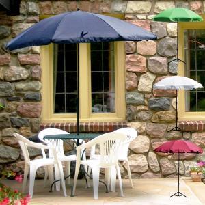 ガーデンパラソル パラソルベース セット 土台付き パラソル 日除け 日よけ サンシェード オープンカフェ 収納ケース付 アウトドア ###パラソル1008###|ai-mshop