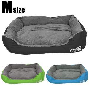 ペットベッド Mサイズ 小型犬 猫用 ペットソファ ペット用品 ペット用 グッズ ペットクッション ...