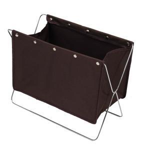 かばん置き バッグラック かばん立て 荷物置き台 かばん収納 マガジンラック 折り畳み式/###バッグラックBR-BRL###|ai-mshop