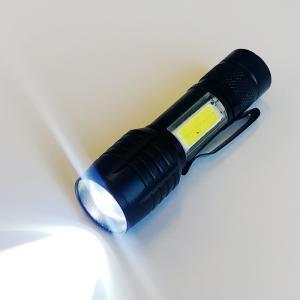 充電ライト LED懐中電灯 LEDハンディライト 充電器式 防犯 防災 LED懐中電灯 強光 ミニ ...