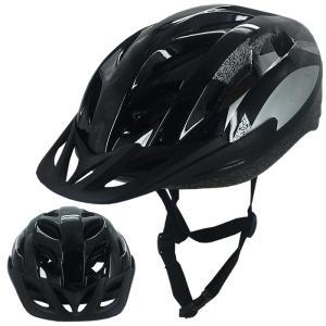 ヘルメット 大人用 自転車 キッズ 子供用 学生用 ジュニア バイザー付 サイクルヘルメット ロードバイク サイクリング 軽量 通勤 通学 ###ヘルメットYF-12黒###|一撃SHOP