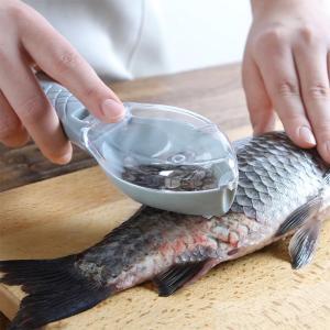 ウロコ取り 飛び散らない 魚鱗クリーナー 業務用 鱗取り 家庭用 キッチン用品 キッチンツール 調理器具 ピーラー 魚 ###ウロコ取りYRGPD-WH###