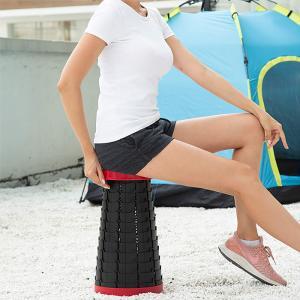 アウトドアチェア 折りたたみチェア キャンプ椅子 伸縮式 折り畳み式 高さ調節可 超軽量 コンパクト...