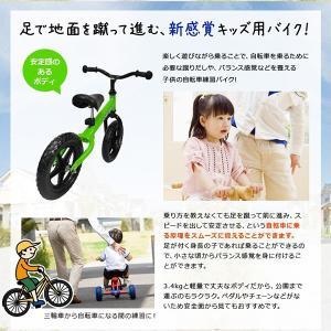 子供用自転車 ペダルなし自転車 ゴーライダー ...の詳細画像1