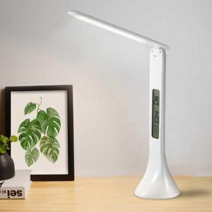 デスクライト LEDデスクライト LED おしゃれ 学習机 学習 スタンドライト テーブルライト 目に優しい 調光 アラーム ライト照明 ###ライトWTG-1001###