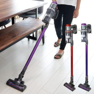 22.2V コードレス掃除機 2in1 サイクロン 充電式 掃除機 超強力吸引 小型 コンパクト 軽量 ハンディ スティック コードレスクリーナー ###掃除機SC-1603###|ai-mshop