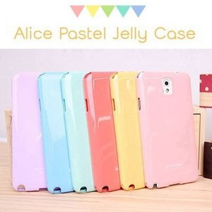 Alice Jelly スマホ ケース カバー GALAXY S4 S3 S3a NOTE3 NOTE2 NOTE ギャラクシー ギャラクシーノート DOCOMO AU galaxy パステルカラー|ai-phonecase