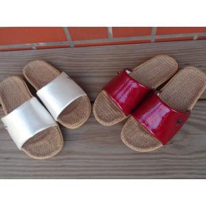 沖縄以外 送料無料『 スリッパ 』 軽い 涼しい 麻素材 が 気持ちいい 素足 で履く インアウトジュート ( M 約23〜24cm ) 事務所 来客用 おしゃれ 新築御祝|ai-select