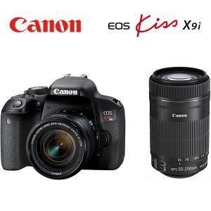 キャノン デジタル一眼レフカメラ EOS Kiss X9i ダブルズームキット EOSKISSX9I...