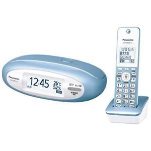 Panasonic パナソニック デジタルコードレス電話機 子機1台付き VE-GZX11DL-A メタリックブルーの画像