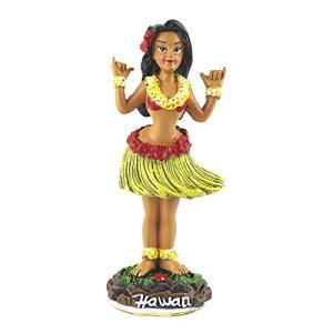 ダッシュボード フラドール Mini 「シャカガール」#40851 ハワイアン雑貨 お土産 フラガール アメリカン雑貨 アメリカ雑貨|aiba